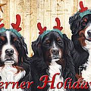 Berner Holiday Art Print
