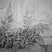 Bernheim Forest Plant Art Print
