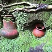 Berriles Pots Art Print