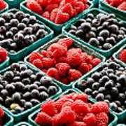 Berry Berry Nice Art Print by Peter Tellone