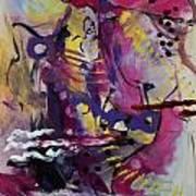 Violet Dawn Art Print