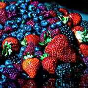 Berrylicious Art Print
