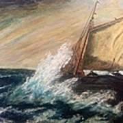 Berts Boat Art Print