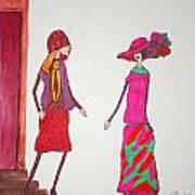Best Friends Art Print by Mary Kay De Jesus
