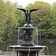 Bethesda Fountain Central Park Nyc Art Print