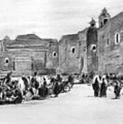 Bethlehem Painting 1928 Art Print by Munir Alawi