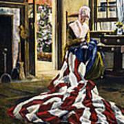 Betsy Ross (1752-1836) Art Print