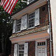 Betsy Ross House Art Print