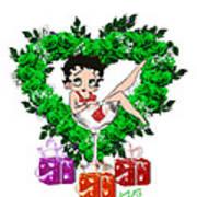 Betty Boop 3 Art Print