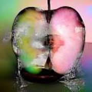 Between My Apples  Art Print