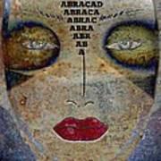 Between Worlds - Masked Series Art Print