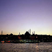 Bewitching Istanbul Art Print