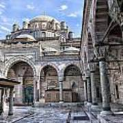 Beyazit Camii Mosque Art Print