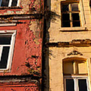 Beyoglu Old Houses 02 Art Print
