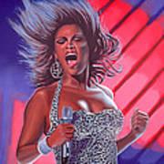 Beyonce Art Print by Paul Meijering