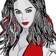 Beyonce The Beautiful Art Print