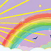 Beyond The Rainbow Art Print