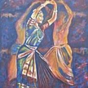 Bharatha Naatayam 3 Art Print