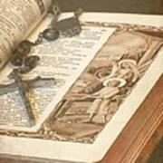 Biblical Art Print by Sophie Vigneault