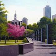 Bicentennial Capital Mall Park Art Print by Janet King