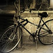 Bicycle Art Print by Amr Miqdadi