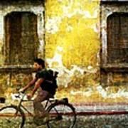 Bicycle Textures Art Print