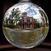 Bidwell Mansion Through A Glass Eye Art Print
