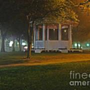 Bienville Square Grandstand In A Foggy Mist Art Print