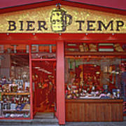Bier Tempel Art Print