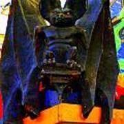 Big Bad Bat Art Print