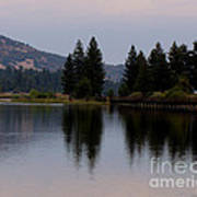 Big Bear Lake Art Print