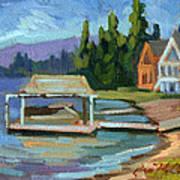 Big Bear Lake South Shore 2 Art Print