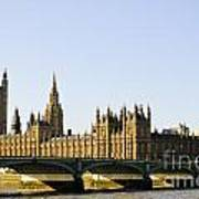 Big Ben And Houses Of Parliament Art Print