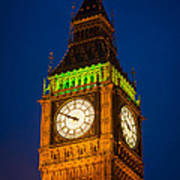 Big Ben At Night Art Print