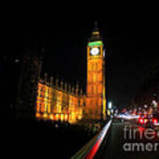 Big Ben At Night  Art Print