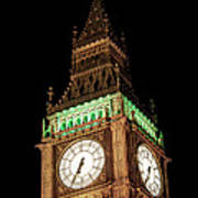 Big Ben Close Up Art Print