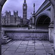 Big Ben Through The Arch Art Print