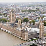 Big Ben Westminster Art Print by Donald Davis