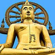 Big Buddah Art Print