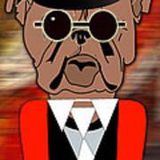 Big Bull Dog Art Print