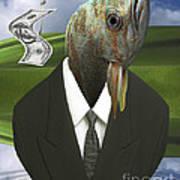 Big Fish Little Pond Art Print