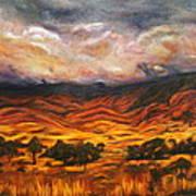 Big Gountry - Mac Donnell Ranges Australia Art Print