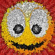 Big Happy Smile Art Print