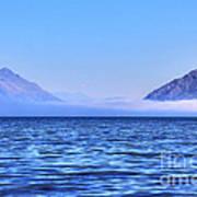 Big Lake In Newzealand Art Print