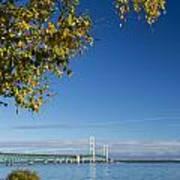 Big Mackinac Bridge 57 Art Print