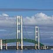 Big Mackinac Bridge 59 Art Print