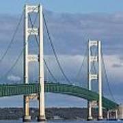 Big Mackinac Bridge 63 Art Print