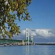 Big Mackinac Bridge 68 Art Print