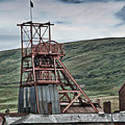 Big Pit Colliery Art Print