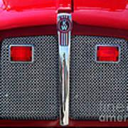 Big Red Fire Truck Art Print